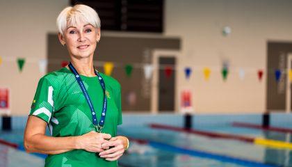 Plaukimo trenerė Gitana Kemėšienė