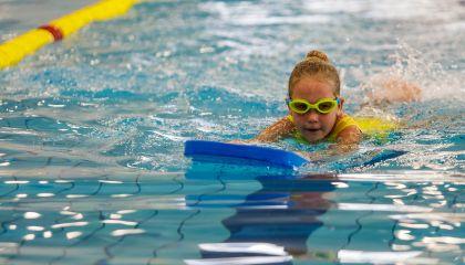 Individualios vaikų plaukimo pamokos