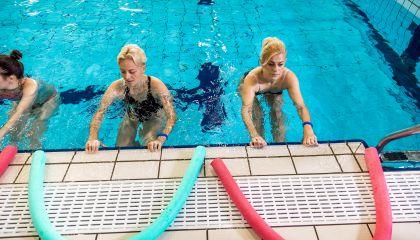Rugsėjo 7 d. grįžta vandens aerobikos treniruotės su trenere Marina